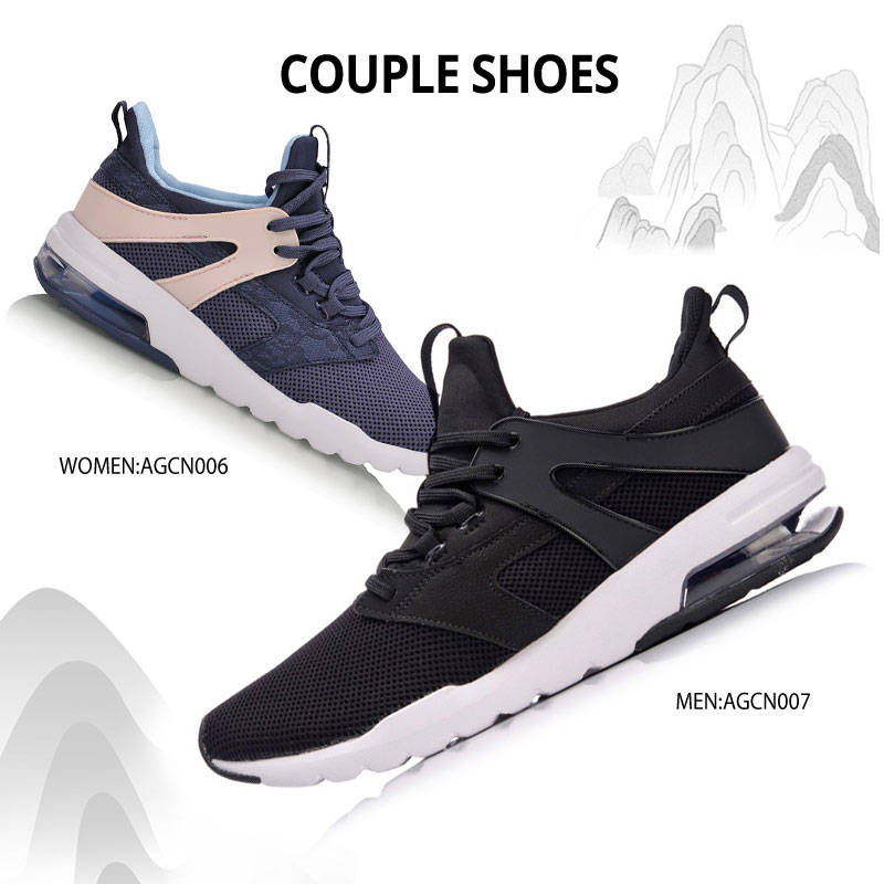 Li-ning hommes bulle UP-FOCUS classique chaussures de marche portable coussin doublure baskets TPU soutien chaussures de Sport AGCN007 YXB129 - 6