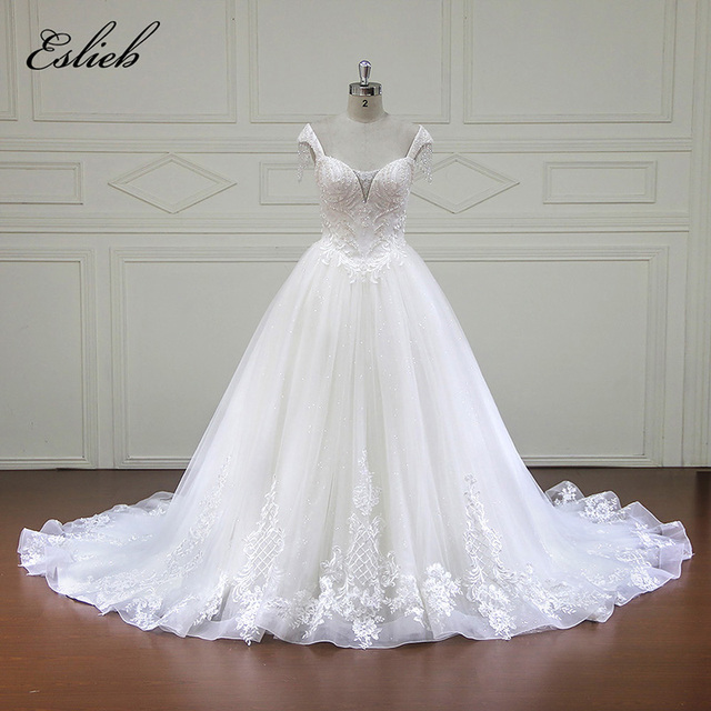 Eslieb wedding dress 2018 custom made bridal gown ball gown ...