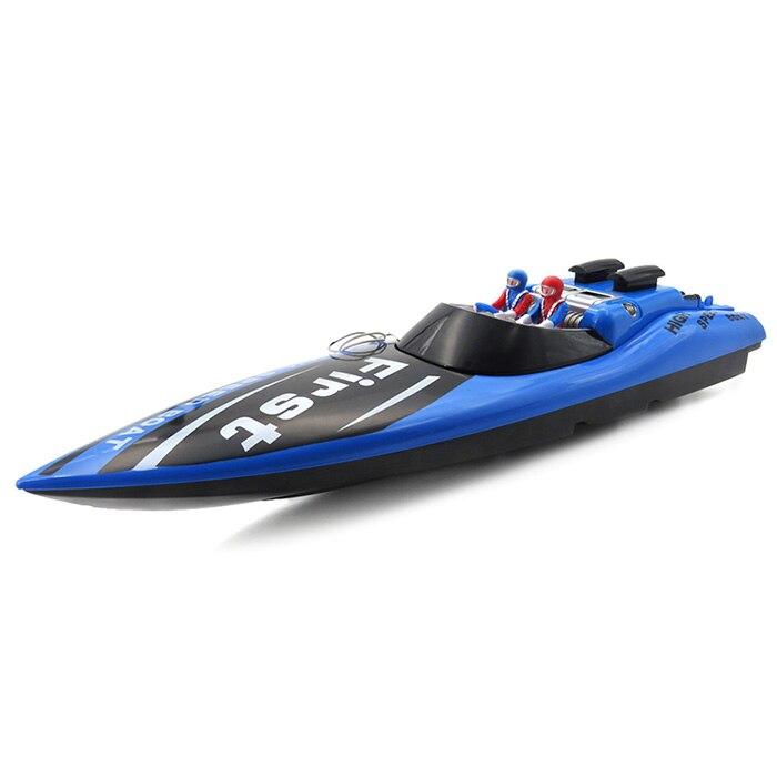 RC Bateau Jouet Pour Enfants 35Hz Sans Fil 100 m Télécommande le bateau 15 km/H Racing Bateau Bateau RC Bateaux Enfants Eau Électrique jouets