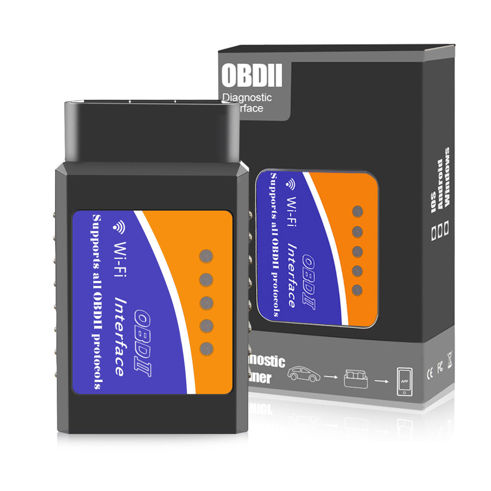ELM327 V1.5 Wifi OBD2 PIC18f25k80 Car Diagnostic Tool Automotive scanner Wireless OBD2 elm327 Support IOS/Android/Windows System