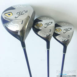 Cooyute новые женские клюшки для гольфа Maruman FL III гольф деревянный набор водителя и 2 дерева графит ручка клюшки для гольфа клуб Бесплатная