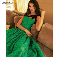 Cosmicchic Haute Couture Hollow Out Embroidery Spaghetti Strap Dress Irregular Flounce Designer Dresses Elegant Runway LY256