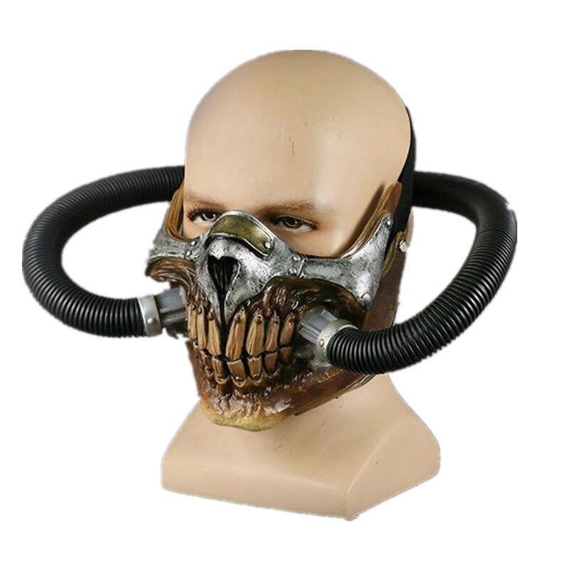 Crâne vapeur Punk fou gaz Max masque PVC Halloween fête masques meilleur vente costume cool maske film visage souris masque