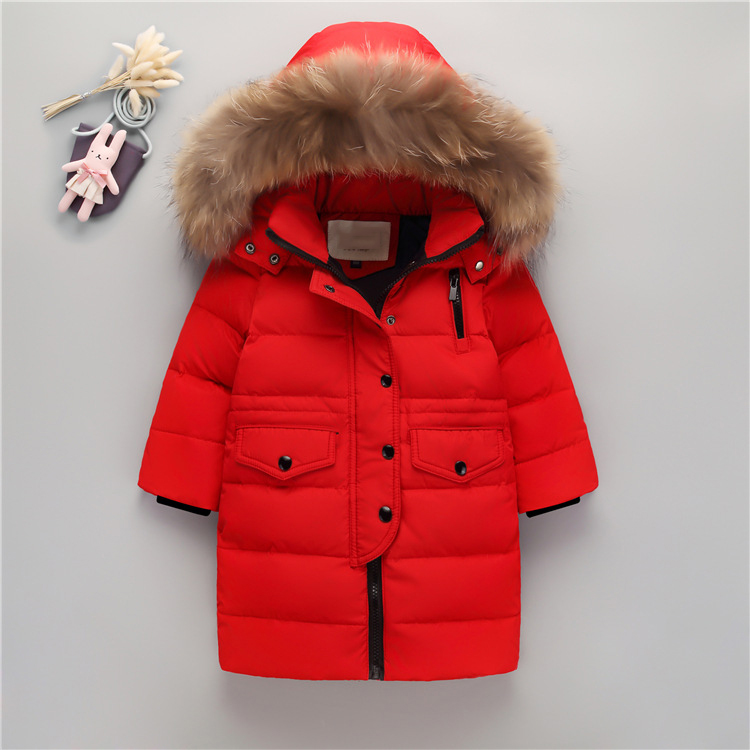 Boys /Girls down jacket Hooded collar Children Cotton Jacket Warm Fashion Parkas Winter Kids Jacket Zipper cotton Coat 3-12Y children winter coats jacket baby boys warm outerwear thickening outdoors kids snow proof coat parkas cotton padded clothes