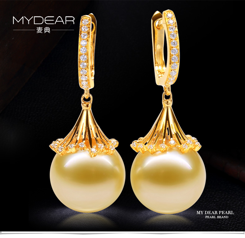southsea pearls gold earrings 11