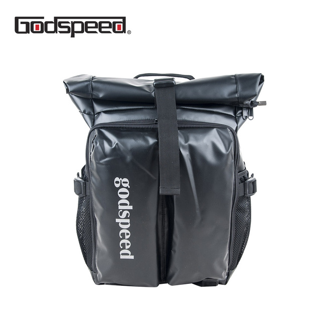 Godspeed waterproof unisex expandable pvc tarpaulin travel luggage backpack with  laptop padded pocket 2018 new arrival