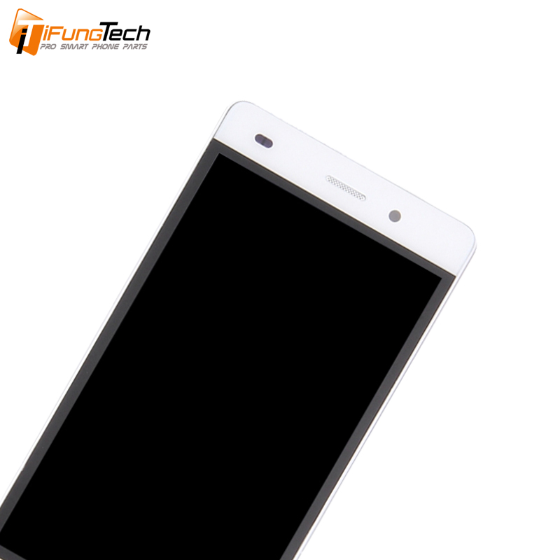 Free Shipping 100 Tested 5 inch 1920x1080 Display For HUAWEI P7 LCD Ascend P7 Touch Screen Digitizer Assembly With Frame in Mobile Phone LCD Screens from Cellphones Telecommunications