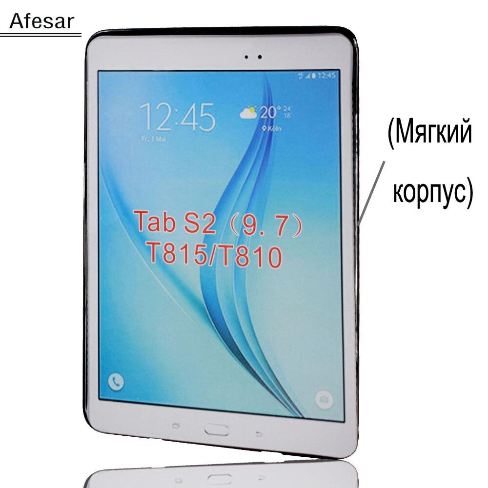 Tpu SM T810 T813 Caso Della Copertura per Samsung Tab S2 9.7 pollici tablet T815 T819 Silicone soft shell caso facile del sacchetto del sacchetto della tasca