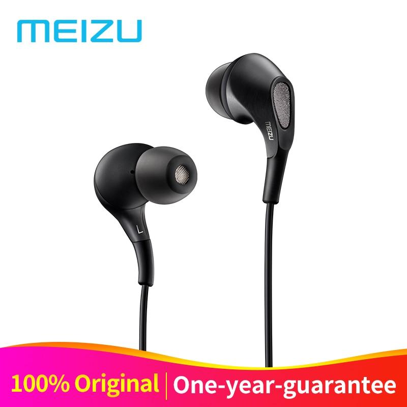 Original Meizu Fluss Kopfhörer In-Ear Headset 3,5mm Ohrhörer Triple Fahrer Hybrid Dynamische mit Mikrofon Für Meizu Pro7 Handys