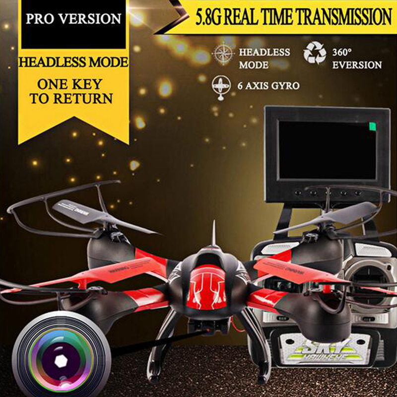 Original SKY HAWKEYE 1315S Remote Control Helicopter 0.3MP HD Camera 6 Axis Gyro Quadcopter 4 Channels USB Plug Brushless Motor