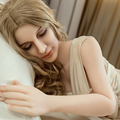 165CM Tpe Silicone Sex Doll For Man Closed Eyes Full Size Japanese Real Sexy Love Dolls Vagina Pussy Ass Anal Men Sexual Toys