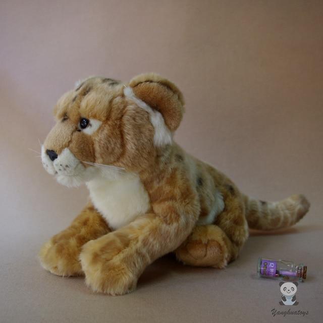 Simulation Stuffed Animal Toy Cougar Doll Cute Mountain Lion Plush