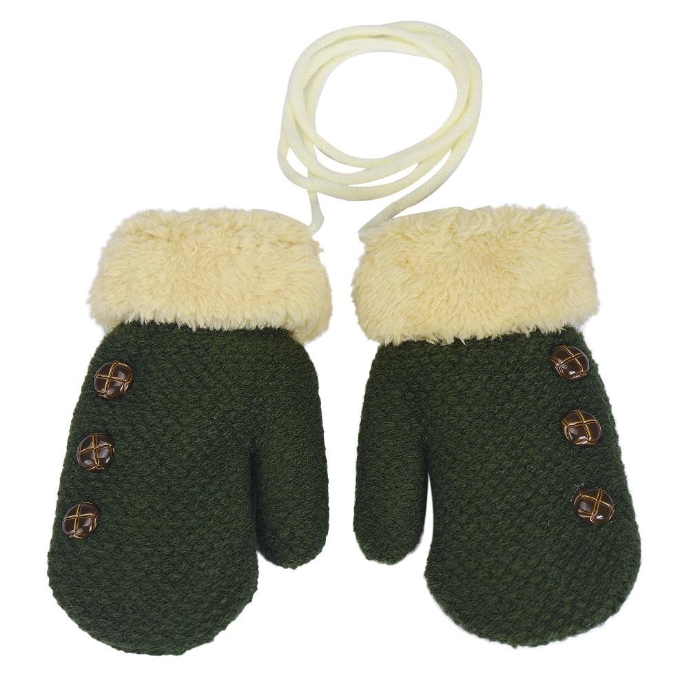 3-8years old children winter gloves christmas Baby Cute Thicken Hot baby handschoenen Winter Warm Gloves