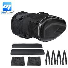 Mofaner Multi-use Expandable Motorcycle Rear Seat Luggage Saddle Bag 58L Large Capacity
