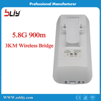 1 Pair 5.8Ghz 900M CPE Access Point To Point Lte Home Router Network AP LAN*2 Outdoor Internet Wifi POE Wireless Bridge