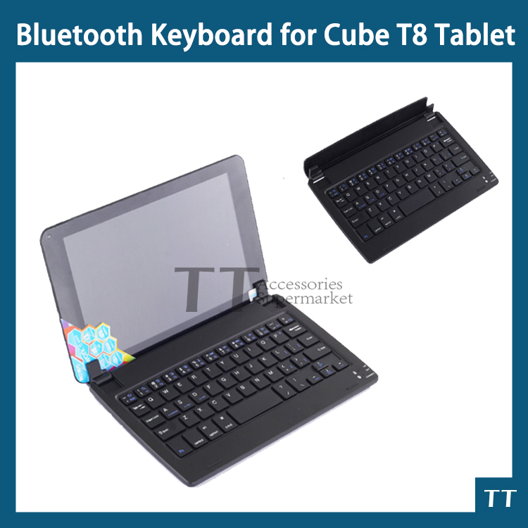 Plug-in Bluetooth Keyboard for cube t8 8Tablet PC,cube t8 Bluetooth Keyboard + free 2 gifts car charger for tablet pc cube u10gt u10gt2 aoson m19 more black dc 9v