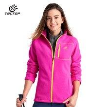 2016 Autumn Winter Outdoor Sport Thermal Polar Fleece Coats Women Thick Warm Fleece Jackets Girls Hiking Jackets, Free Shipping