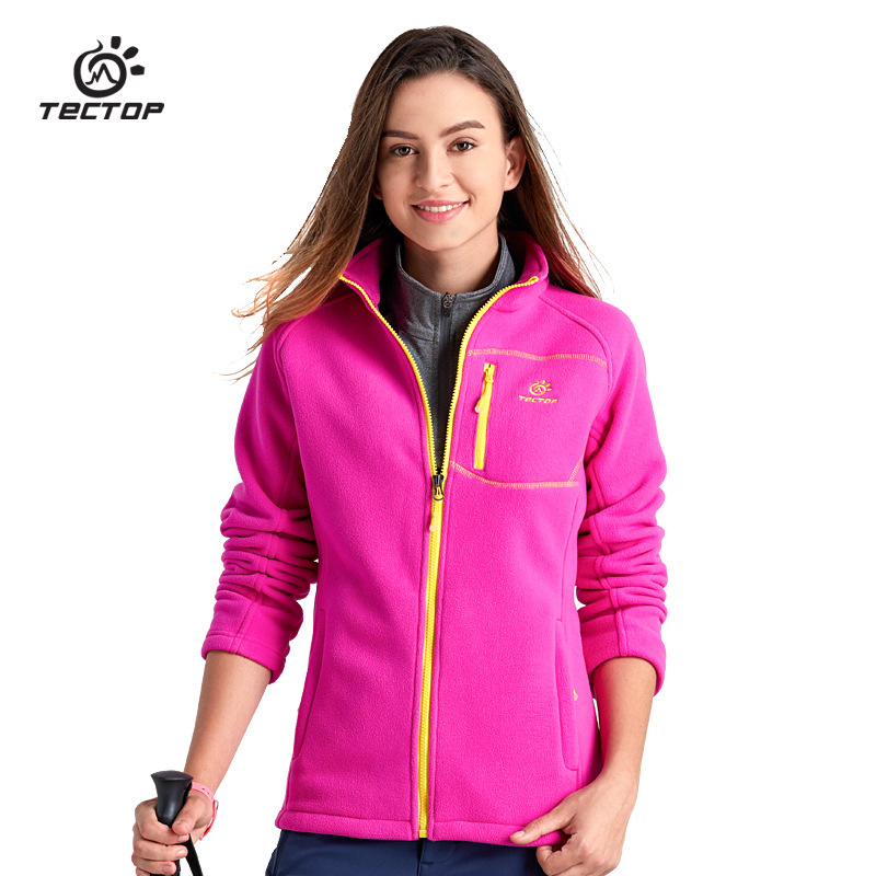 Autumn Winter Outdoor Sport Thermal Polar Fleece Coats Women Thick Warm Fleece