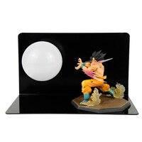 Table Lamp LED Night Lights Creative Dragon Ball Son Goku Strength Bombs Room Decorative Lighting Holiday