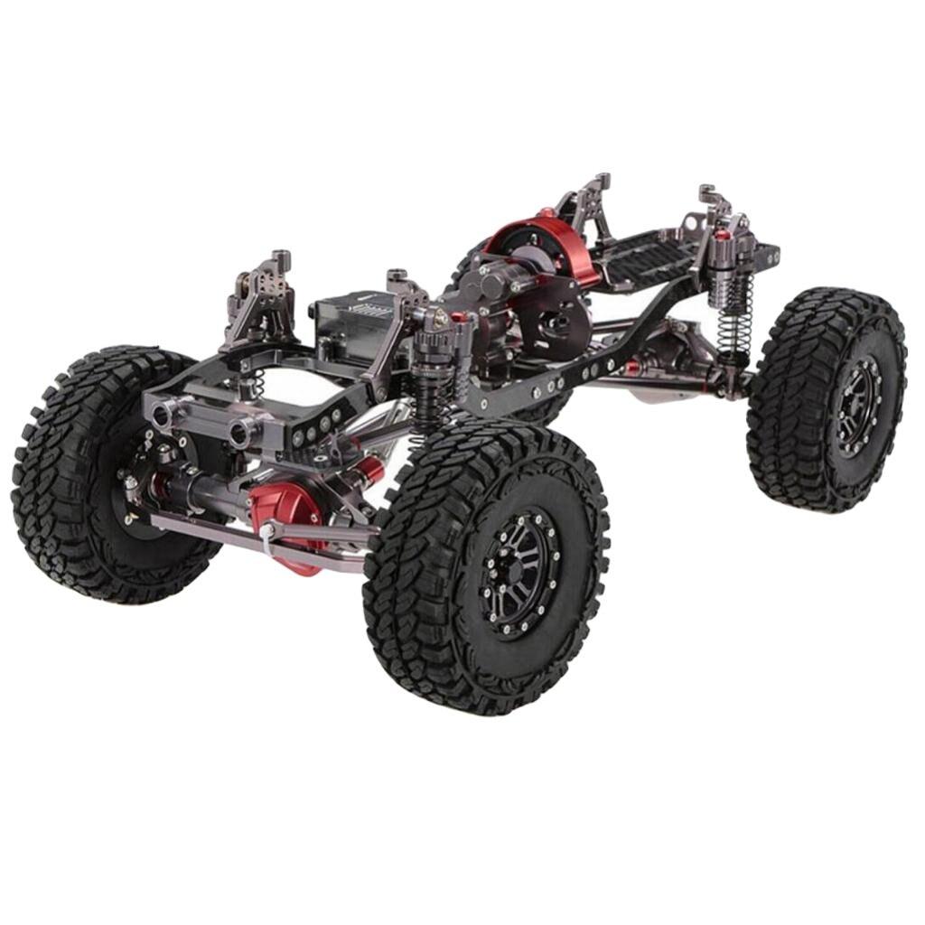 1/10 RC voiture corps coque cadre 313mm empattement bricolage pièces accessoires pour Axial SCX10 90046 D90 télécommande roche chenille