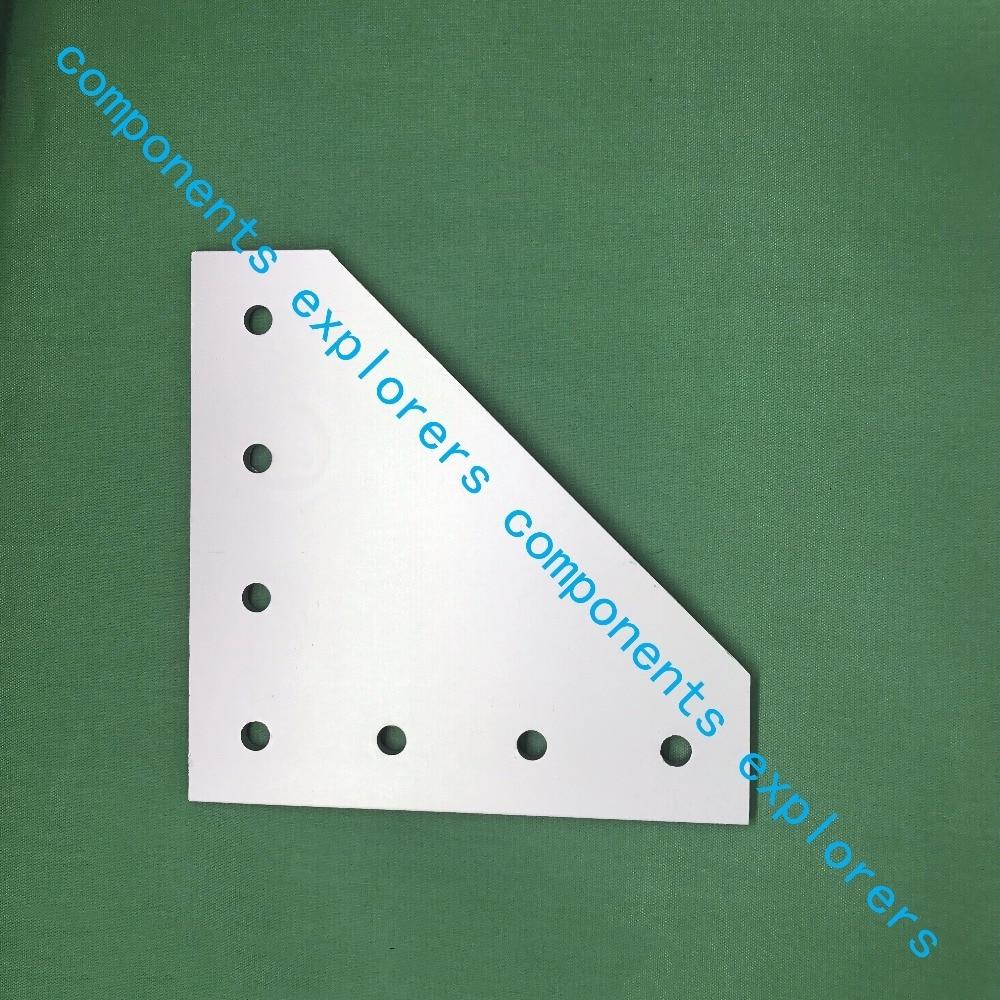 4040L-7-connection plate for reinforcement of profiles,10pcs/lot. пилочка для ногтей leslie store 10 4sides 10pcs lot