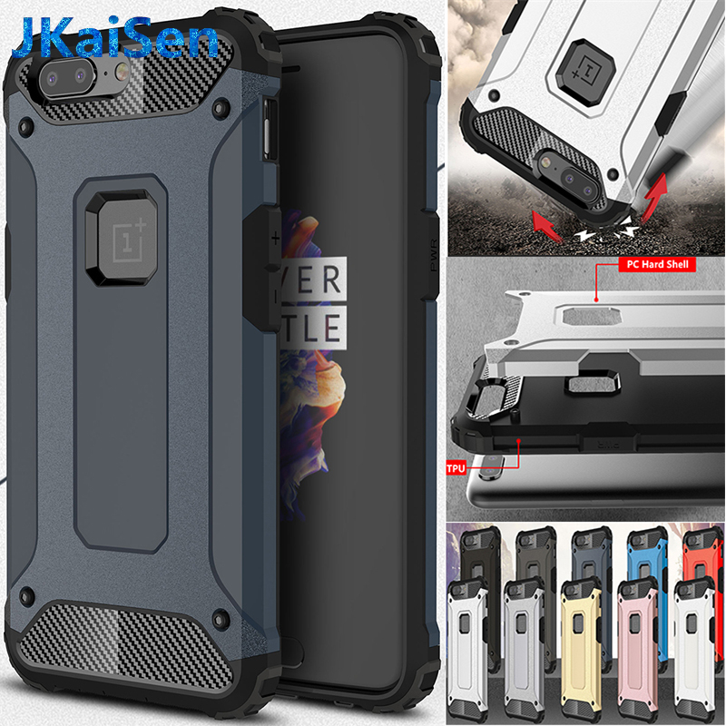 JKaiSen Case For Oneplus <font><b>6</b></font> 6t 5t Cases Oneplus 5t Full Protect <font><b>Phone</b></font> Bag Back <font><b>Cover</b></font> <font><b>One</b></font> <font><b>plus</b></font> 6t Luxury Armor For Oneplus 5 Coque image