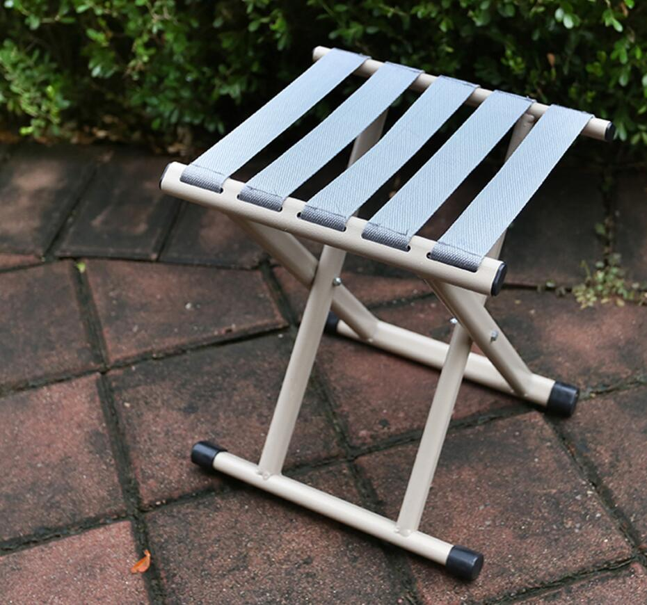Furniture ... Outdoor Furniture ... 32773444307 ... 3 ... SUFEILE Folding stool  outdoor thickening backrest military fishing chair, portable bench outdoor camping barbecue necessary d5 ...
