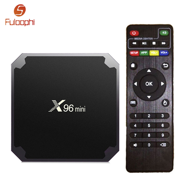 X96 mini TV BOX  Amlogic S905W Android 7.1 1GB 8GB 2GB 16GB Quad Core Smart Boxes Suppot WiFi 2.4GHz Set-top Box Media Player