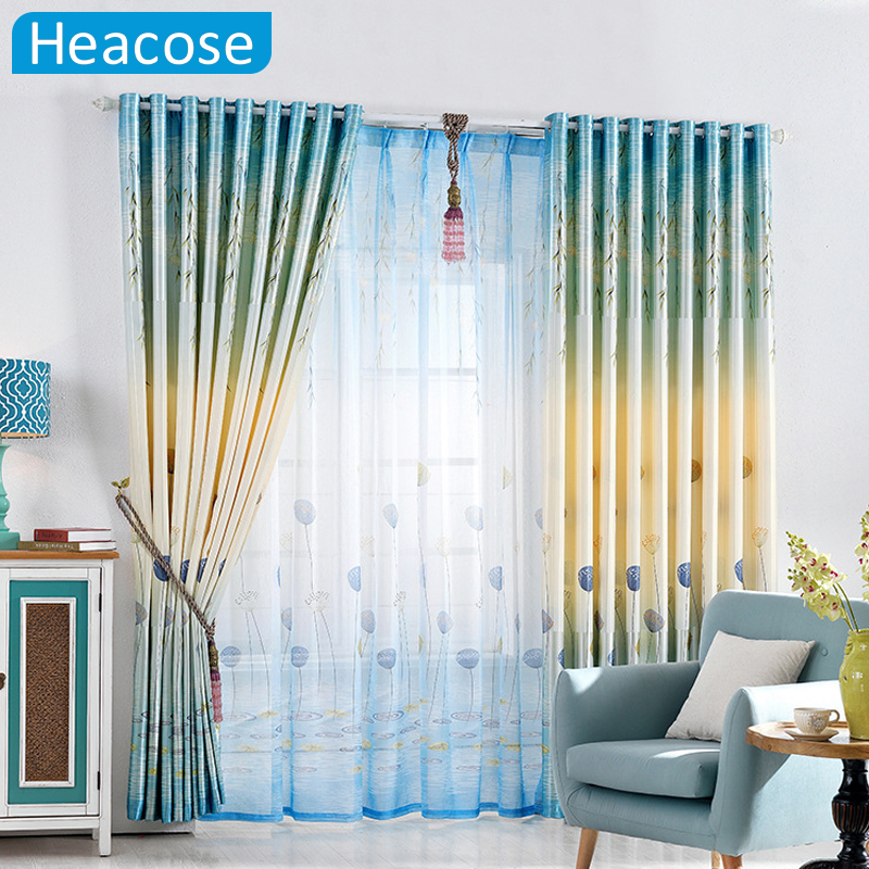 Online buy wholesale double curtain from china double for B m living room curtains