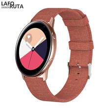 Laforuta Nylon Band for Samsung Galaxy Watch Active Band Galaxy 42mm Strap Classic S2 Sport 20mm Quick Release Watch Band laforuta nylon band for samsung galaxy watch active band galaxy 42mm strap classic s2 sport 20mm quick release watch band