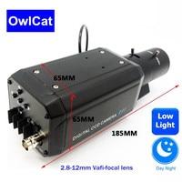 Sony CCD 700TVL 2,8 12 мм Vafi фокусный объектив Суперлегкий вес коробки osd камера Цвет iamge день/ночь аналоговая камера видеонаблюдения встроенный SSNR