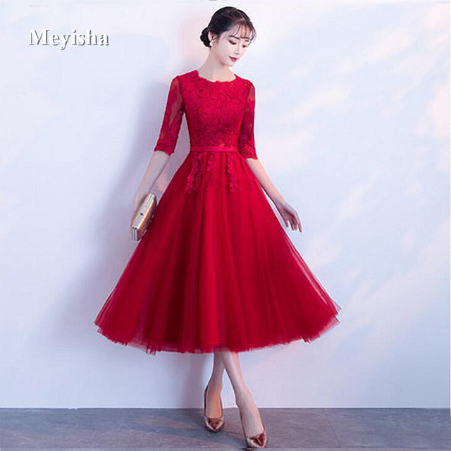 76789ffd15 ZJ7013 Pink Short Lace Homecoming Dresses Grade Prom Dresses Junior High Cute  Red Ivory Black Navy Graduation Formal Dresses