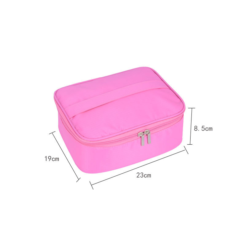 Fashion Women Makeup Portable Travel Cosmetic Bag Organizer Case Waterproof Makeup Wash Pouch Toiletry Bag Travel Accessories