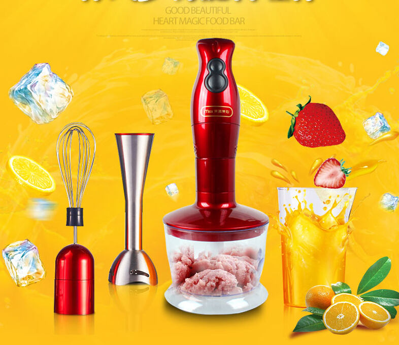 Household Electric Mixer Baby Food Supplement Blenders Multifunction Handheld Home Use Meat Grinder cukyi high quality slow cooker household steam stew multifunction birdsnest pregnant tonic baby supplement nutritious breakfast
