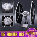 НОВЫЙ Лепин 05036 Звездные Войны Серии Tie Fighter Строительные Образовательные Блоки Кирпичи Игрушки 1685 шт. Совместим с 75095