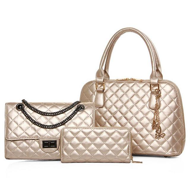 Brand Style Women Handbags Latest Leather Bag Messenger Bags Designer Las Tote Handbag
