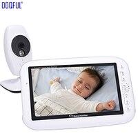 7 Wireless Baby Monitor Night Vision Temperature Detection Record Night Vision Digital Video Nanny Camera Baba Electronics DIY