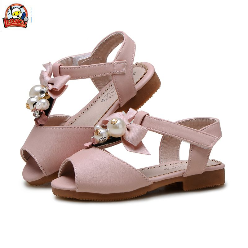 Lesvago originl quality infant girl sandals little kid girl summer shoes little girl princess sandals шапка lonsdale lonsdale lo789cudgh75