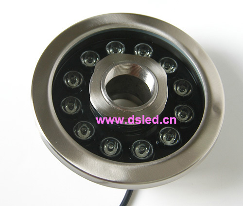 Free shipping by DHL !! CE,P68,stainless steel 12W LED fountain light, underwater LED light,DS-10-38-12W-RGB,good quality used good condition vx4a66105 with free dhl