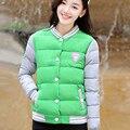 2016 Nuevo uniforme de moda mujer chaqueta de invierno cálido chaquetas abrigo de invierno de las mujeres mujeres del algodón parkas mujeres chaqueta de invierno XXL 2877