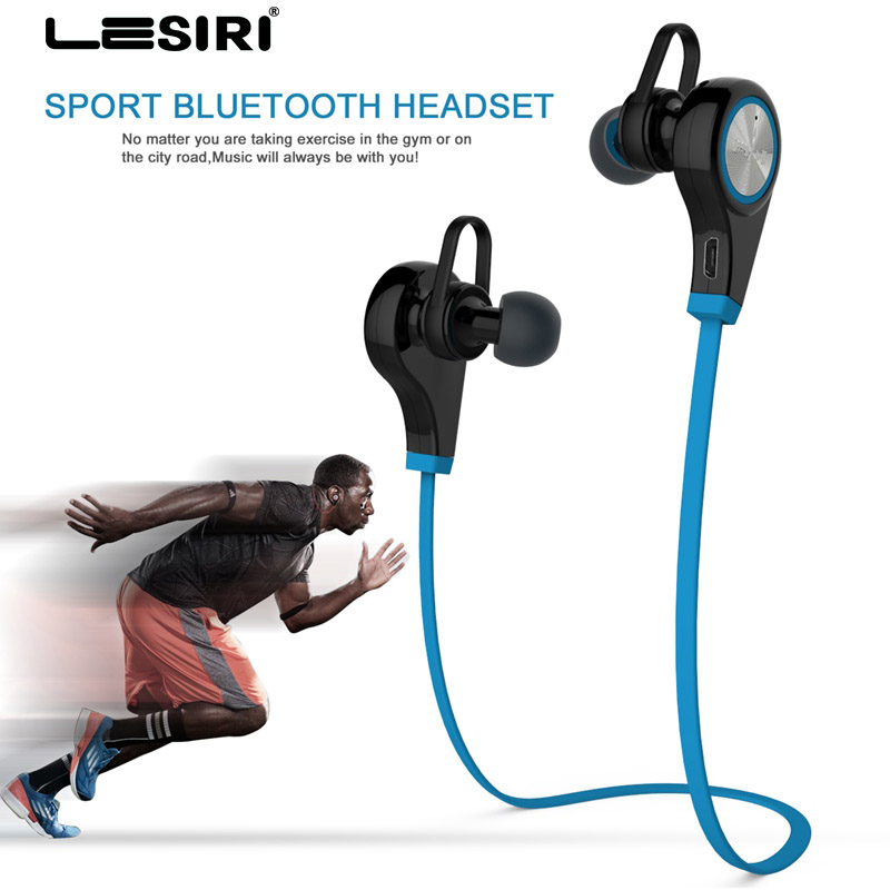 Bluetooth Headphones Wireless Sports Earphone In-ear Headset Running Music Stereo Earbud Handsfree with Mic for iPhone 8 Samsung