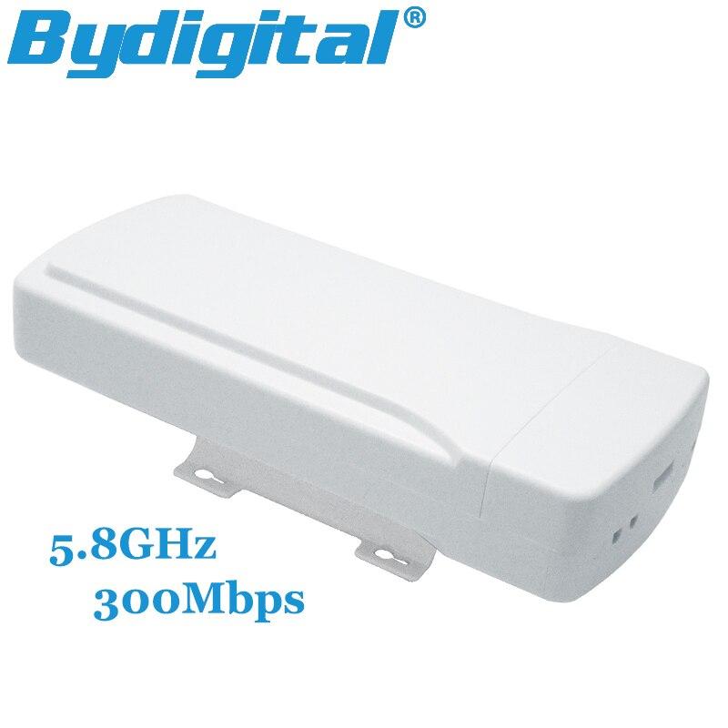 ФОТО 5pcs/lot 5.8GHz wifi CPE bridge 300Mbps high speed wireless antenna 64M RAM 16Dbi Wifi adaptador AP adapter 802.11a / n