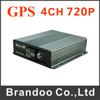 Only UD99 Cheapest SD DVR 4CH 720P CAR DVR With GPS Function