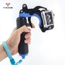 Аксессуары поплавок затвора стабилизатор раздел пистолет триггер комплект плавающего ручка для GoPro Session Камера Go Pro 5 4 3 Xiaomi Yi