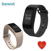 Новый Bewot A09 Умный Группа Фитнес-Трекер Smartband Браслет с Bluetooth Heart Rate Monitor для Android iOS Фитнес-Часы