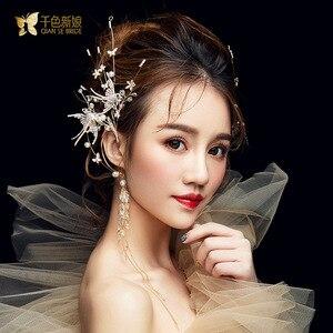Image 2 - クリスタル鳥耳かけデュアル使用側の装飾スーパー妖精パーティー髪の宝石女性のための