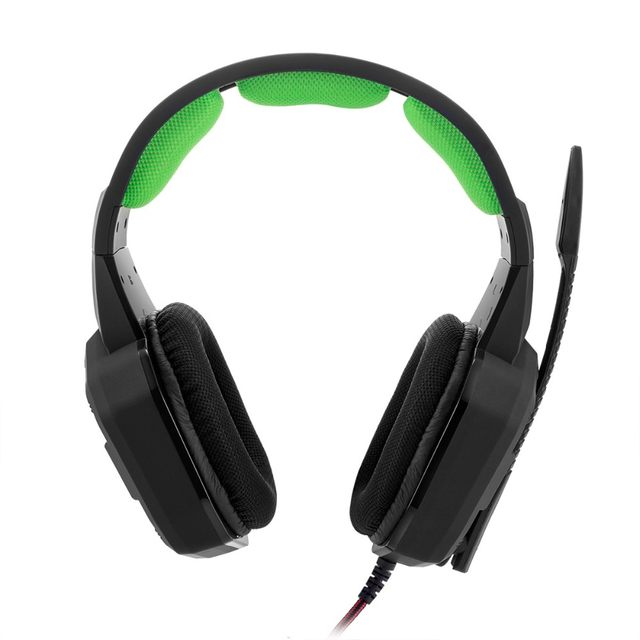 Virtual 7 1 Gaming Headset for PS4 , Iphone , Ipad , Smartphone , Tablet ,  Mac,XBox One with LED light Stereo gaming headset