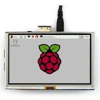 5 Inch Raspberry Pi LCD Display Module 800 480 TFT Resistive Touch Screen Panel HDMI Interface