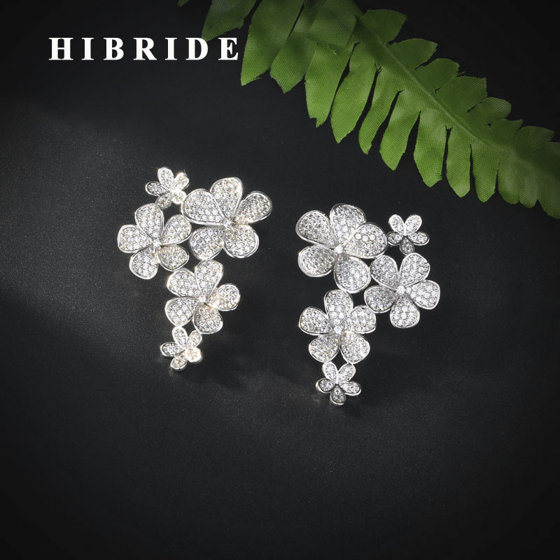 15dcb31ec HIBRIDE-New-Flower-Design-Clear-Red-Cubic-Zircon-Stud-Earrings -For-Women-Birdal-Accessories-Brincos-Jewelry.jpg