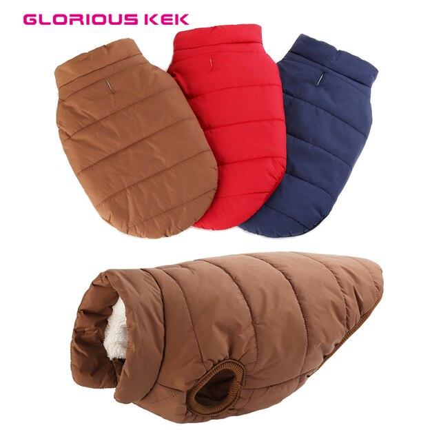 GLORIOUS KEK pet Vestiti Del Cane Per Cane di Grandi Dimensioni Inverno Caldo di